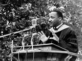 Addressing Tuskegee Graduates Photographic Print by Horace Cort