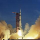 Saturn V Rocket Fotografie-Druck