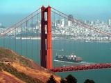 San Francisco Golden Gate Bridge Photographic Print by Eric Risberg