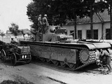 WWII Soviet Tanks in Ukraine 1941 Photographic Print by  Roth