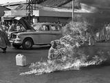 Vietnam Monk Protest Lámina fotográfica por Malcolm Browne