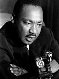 Martin Luther King La Riots Fotoprint van Jim Bourdier