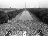 March on Washington Fotografisk trykk