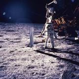 Apollo 11 Aldrin Fotografisk trykk av Niel Armstrong