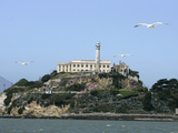 Travel Trip Alcatraz Overhaul Photographic Print by Eric Risberg