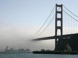 APTOPIX Golden Gate Fog Photographic Print by Eric Risberg