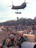Chinook Helicopter Fotografisk trykk av  Associated Press