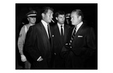 Dean Martin, Jerry Lewis, and Bob Hope Kunstdrucke von Frank Worth