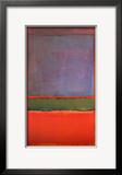 Nº. 6, violeta, verde e vermelho, 1951 Posters por Mark Rothko