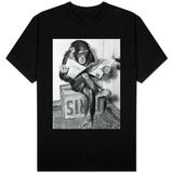 Chimpanzee Reading Newspaper Shirts