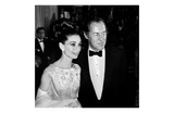 Audrey Hepburn and Rex Harrison Poster von Frank Worth