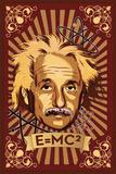 Einstein Mural Print