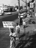 Civil Rights Demonstrations 1961 Fotografie-Druck von  PD