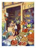 Infant School Illustrations, UK ジクレープリント