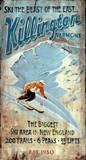 Killington Ski Vintage Wood Sign