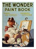 The Wonder Paint Book, UK Giclée-tryk
