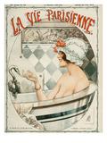 La Vie Parisienne, Cheri Herouard, 1919, France ジクレープリント