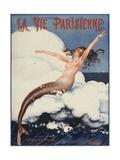 La Vie Parisienne, Leo Pontan, 1924, France Reproduction procédé giclée