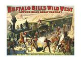 Buffalo Bill's Wild West Show, 1907, USA Giclee Print
