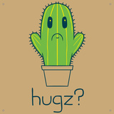 HUGZ Placa de lata