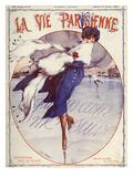 La Vie Parisienne, Leo Pontan, 1920, France Reproduction procédé giclée