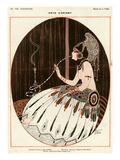 La Vie Parisienne, A Vallee, 1918, France Giclee-trykk