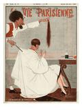 La Vie Parisienne, 1924, France Giclée-tryk