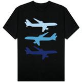 Blue Planes T-skjorte