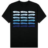 Blue Sportscar T-Shirt