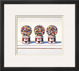 Three Machines, 1963 Posters por Wayne Thiebaud
