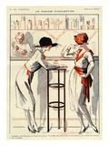 La Vie Parisienne, Prejelan, 1920, France Giclee Print