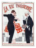 La vie Parisienne, Rene Vincent, 1920, France Giclée-Druck