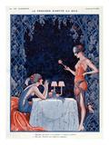La Vie Parisienne, Vald'es, 1923, France ジクレープリント