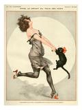 La Vie Parisienne, C Herouard, 1923, France Giclée-tryk