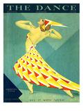 The Dance, Albertina Vitak, 1929, USA Giclée-tryk