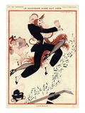 La Vie Parisienne, G Barbier, 1919, France Giclée-Druck