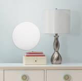 Dot/Circle Peel & Stick Mirror (Large) Veggoverføringsbilde