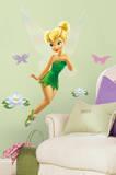 Disney keijut - Tinkerbell kuori & muistille jättiläinen seinään siirtokuva Seinätarra