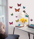 Butterfly 3-D Wall Decals Muursticker