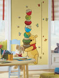 Winnie the Pooh - Pooh Peel & Stick Growth Chart Autocollant mural