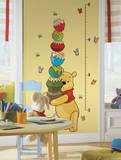 Winnie the Pooh - Pooh Peel & Stick Growth Chart Muursticker