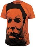 Halloween - Splatter Mask (Slim Fit) Bluser