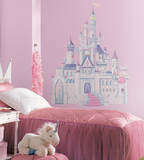 Disney Princess - Princess Castle Peel & Stick Giant Wall Decal Autocollant mural