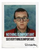 Nothing is Important Fotografía por Keith Haring