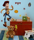 Toy Story - Woody Peel & Stick Giant Wall Decals Muursticker