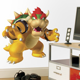 Nintendo - Bowser Peel & Stick Giant Wall Decal Autocollant mural