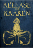 Release The Kraken Affiche