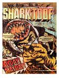 Star Spangled Shark Toof Giclée-Premiumdruck von Shark Toof