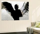 Taivas naisen käsissä Seinämaalaus tekijänä Alex Cherry