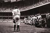 Babe Ruth Retirement - New York Yankees Láminas